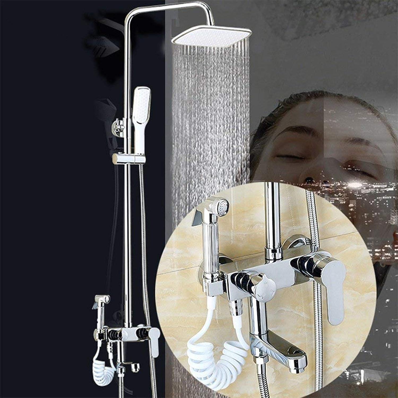 Whgz Das Erntesaison-Multifunktions-Duschset Wandmontage-Duschset zum Heben und Senken