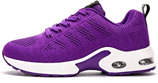 SKLT Women Running Shoes Damping Cushioning Fashion Sneakers Breathable Mesh Jogging Fitness Sport Shoes Lace Up Ladies Footwear
