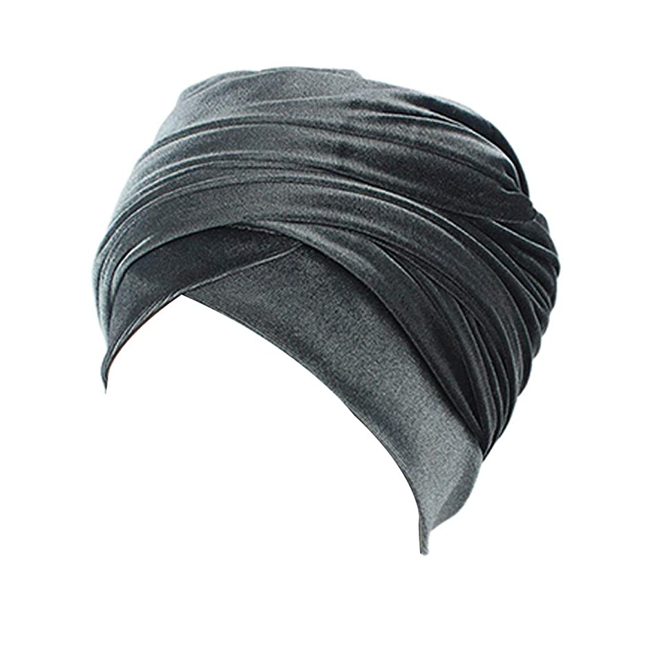 """Easy Wearing Velvet African Head Wrap - 78"""" Long, Soft Stretchy, Good Price, 30-DAYS MONEY REFUND GUARANTEED"""