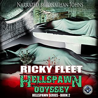 Hellspawn Odyssey (Volume 2)                   By:                                                                                                                                 Ricky Fleet                               Narrated by:                                                                                                                                 Jonathan Johns                      Length: 8 hrs and 2 mins     23 ratings     Overall 4.7