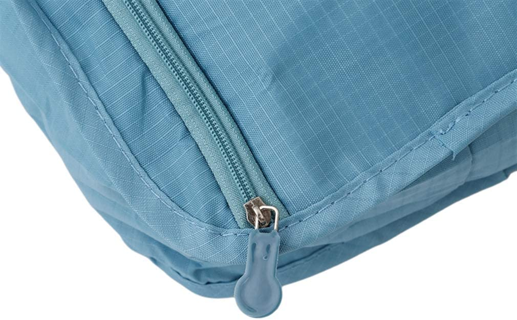 #N//A ZNMUCgs Large Shoe Bag With Zipper Closure Convenient Handle Luggage Organizer Bag For Trainers Heels,sky blue