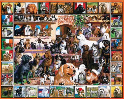 World of Dogs Puzzle