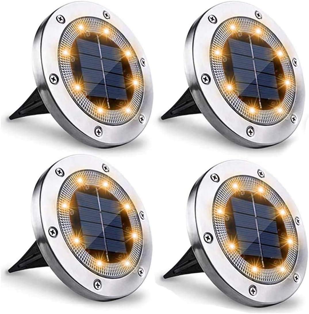 EONSMN Solar Floor lamp Outdoor Pi Gifts Steel Waterproof 4 Stainless Sale price
