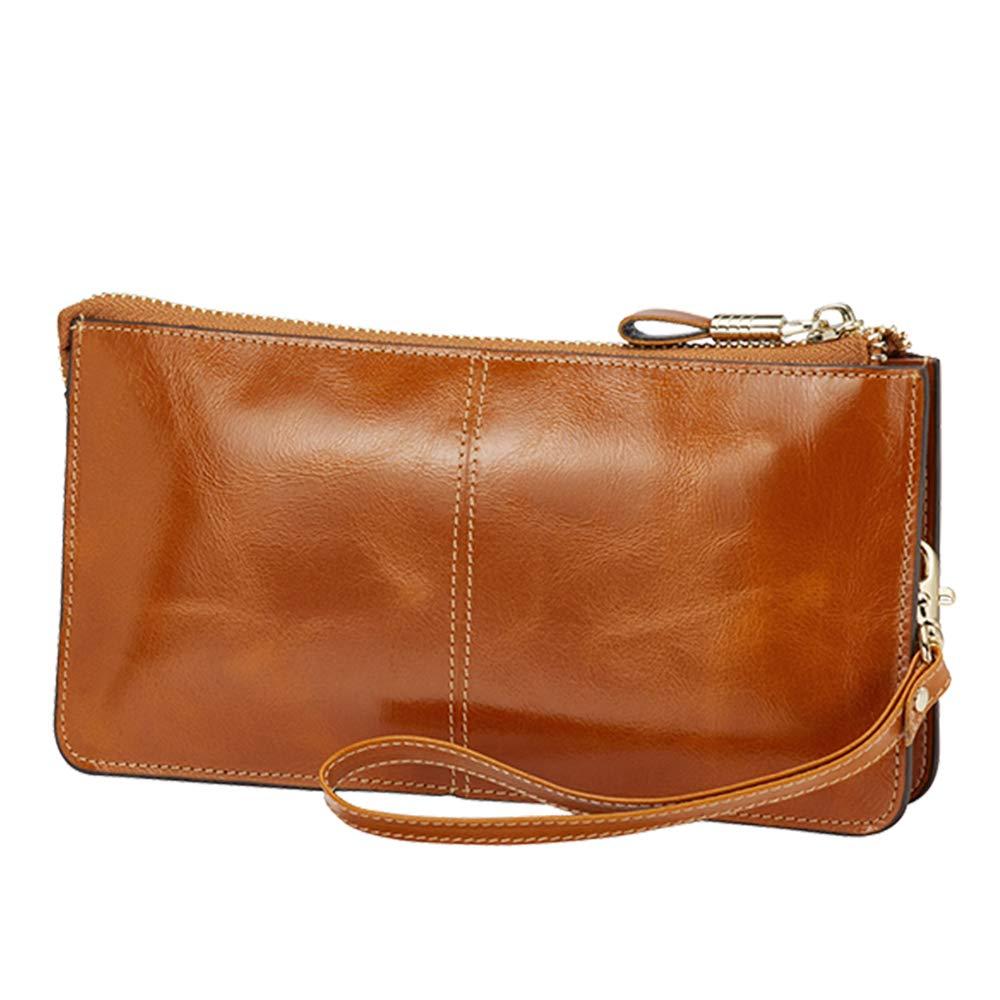 Lecxci Genuine Handbags Wristlets Blocking