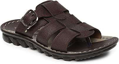 PARAGON Men's Brown Formal Thong Sandals-8 UK/India (42 EU)(PU6727-38)