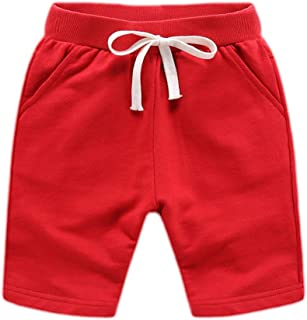 Bfsports Little Baby Boys Stripe Print Drawstring Pull-on Sport Jogger Sweatpants Active Shorts Pants