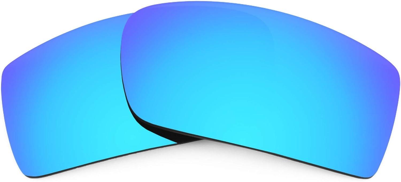 Revant Verres de Rechange pour Julbo Zephyr - Compatibles avec les Lunettes de Soleil Julbo Zephyr Bleu Glacier Mirrorshield - Polarisés Elite