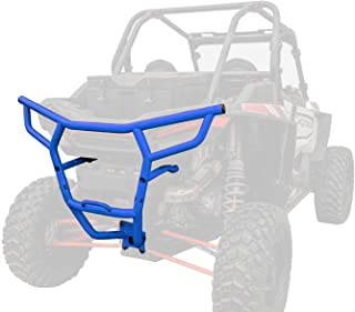 SuperATV Heavy Duty Rear Bumper for Polaris RZR XP 1000 / XP 4 1000 (2019+) - Voodoo/Velocity Blue
