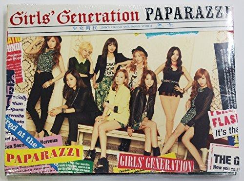 SM Entertainment SNSD Girls' Generation - Paparazzi (Cd+DVD) [Korea Ver.] Cd+Extra Gift Photocards Set