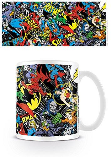 DC Originals MG23661 (Montage) Mug, Céramique, Multicolore, 11oz/315ml