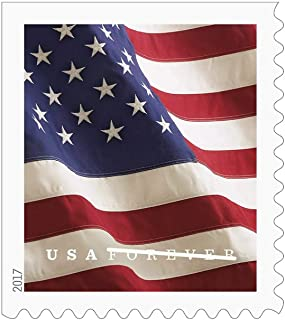 USPS U.S. Flag 2019 Forever Stamps - Book of 20