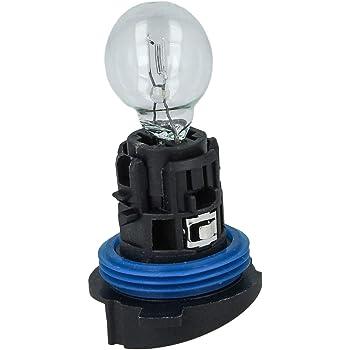 Bombilla hal/ógena HP24 W 12 V 24 W Clear P24 W incluida base casquillo luces diarias