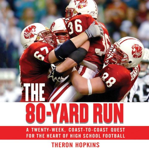 The 80-Yard Run audiobook cover art