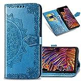 IMEIKONST Wallet Case for LG K51S, Mandala Embossed Phone