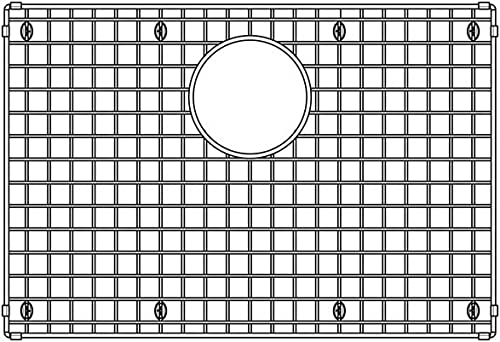 """popular BLANCO 236594 Grid, 14.63"""" online sale L x 21.63"""" W discount x 0.25"""" H, Stainless outlet sale"""