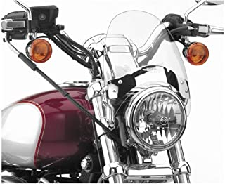 National Cycle N2530-002 Flyscreen with Black Hardware - Light Tint