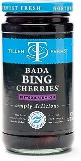 Tillen Farms Cherries, Bada Bing, 13.5 Ounce (Pack of 4)