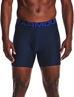Under Armour Men's Tech 6in 3 Pack Quick-drying Sports Underwear, 3 Pack Comfortable Men's Underwear With Tight Fit