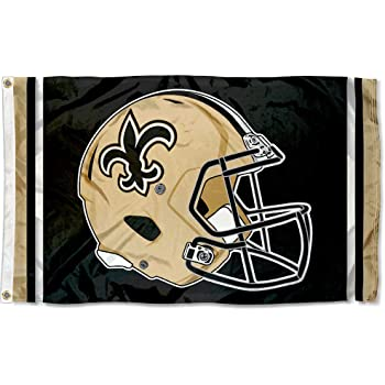WinCraft New Orleans Saints Large Flag 4x6 Feet Banner