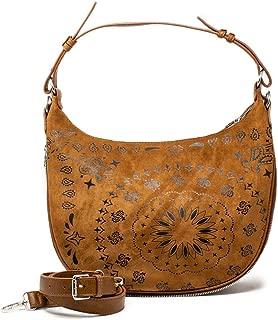 Luxury Fashion | Desigual Womens 19WAXA82BROWN Brown Shoulder Bag | Fall Winter 19