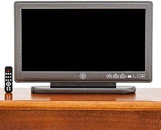 Odoria 1:12 Miniature TV Television with Remote Control Dollhouse Decoration Accessories