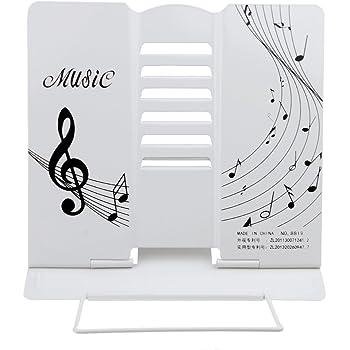 Classic Tisch-Notenständer Musik Kinder Leseständer Weiß
