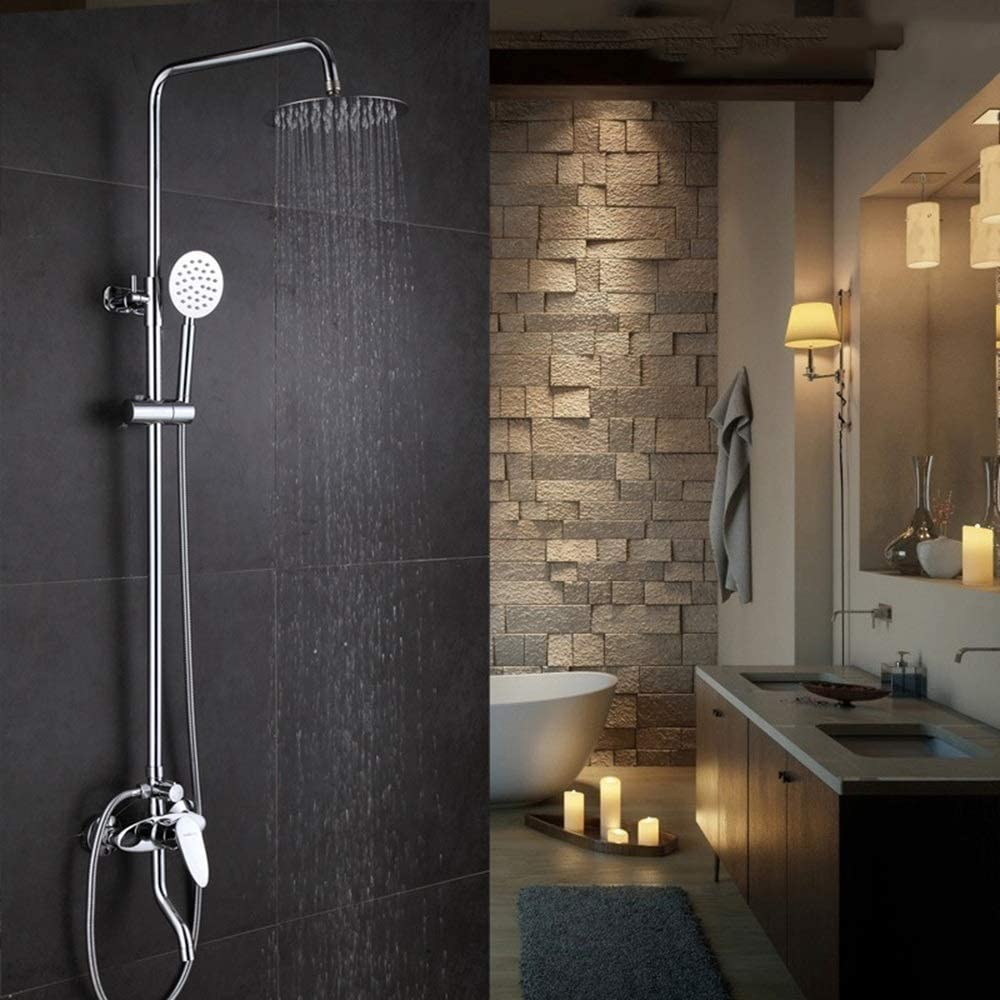 ZKAIAI Bath Fixtures Water free shipping Saving Recommended Punch-free Set Shower