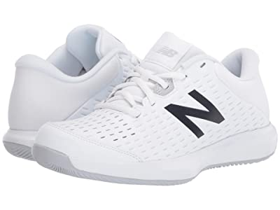 New Balance Kids KC696v4 Tennis (Little Kid/Big Kid) (White/Multi) Kids Shoes