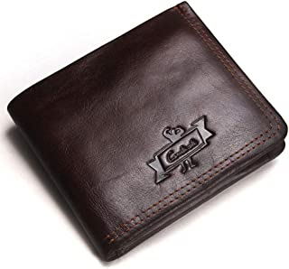 Leather Bifold Wallets for Men Slim - Front Pocket Wallet Money Clip Leather - Leather Wallets for Men Personalized - Incl...
