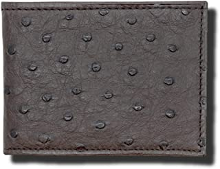 Made in the USA - Genuine Ostrich Skin Wallets – RFID Blocking – American Factory Direct – Real Leather Creations