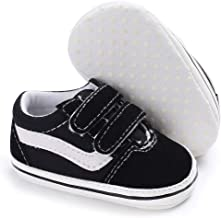 Meckior Baby Girls Boys Sneakers Soft Sole High-Top Ankle Infant First Walkers Crib Shoes