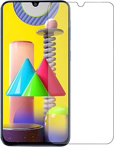 Jump Start Samsung Galaxy M31 Screen Protectors Temper Glass 2 5D Ultra Clear HD Case Friendly 3D Touch for Samsung m31