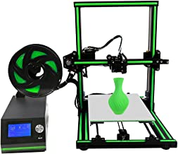 """Anet E10 3D Printer Desktop DIY Kit with Aluminum Frame, Tool Kit, Sample Filament, 8GB TF Card(Also for Off-line Printing) Preloaded with Various Material, Building Large Volume(8.66x10.63x11.81"""")"""