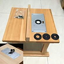 Máquina de aparar placa de inserção de mesa prática para marcenaria, carpinteiro, peças de ferramentas elétricas, acessóri...