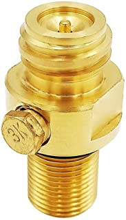 Soda stream Refillable Pin Valve M181.5 Input to TR21-4 Output for CO2 Carbonator Cylinder Tank