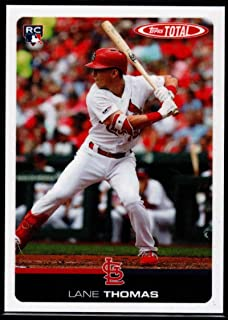 2019 Topps Total (Wave 8) Baseball #721 Lane Thomas St. Louis Cardinals RC Rookie Official MLB Trading Card ONLINE EXCLUSIVE limited print run
