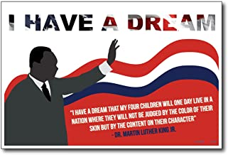 I Have a Dream - Martin Luther King Jr - NEW Famous Person Quote Poster