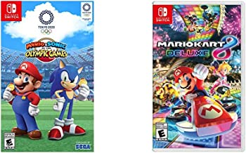 Mario & Sonic at the Olympic Games Tokyo 2020 - Nintendo Switch & Mario Kart 8 Deluxe - Nintendo Switch