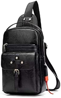 DFV mobile - Backpack Waist Shoulder bag for AGM A8 - Black