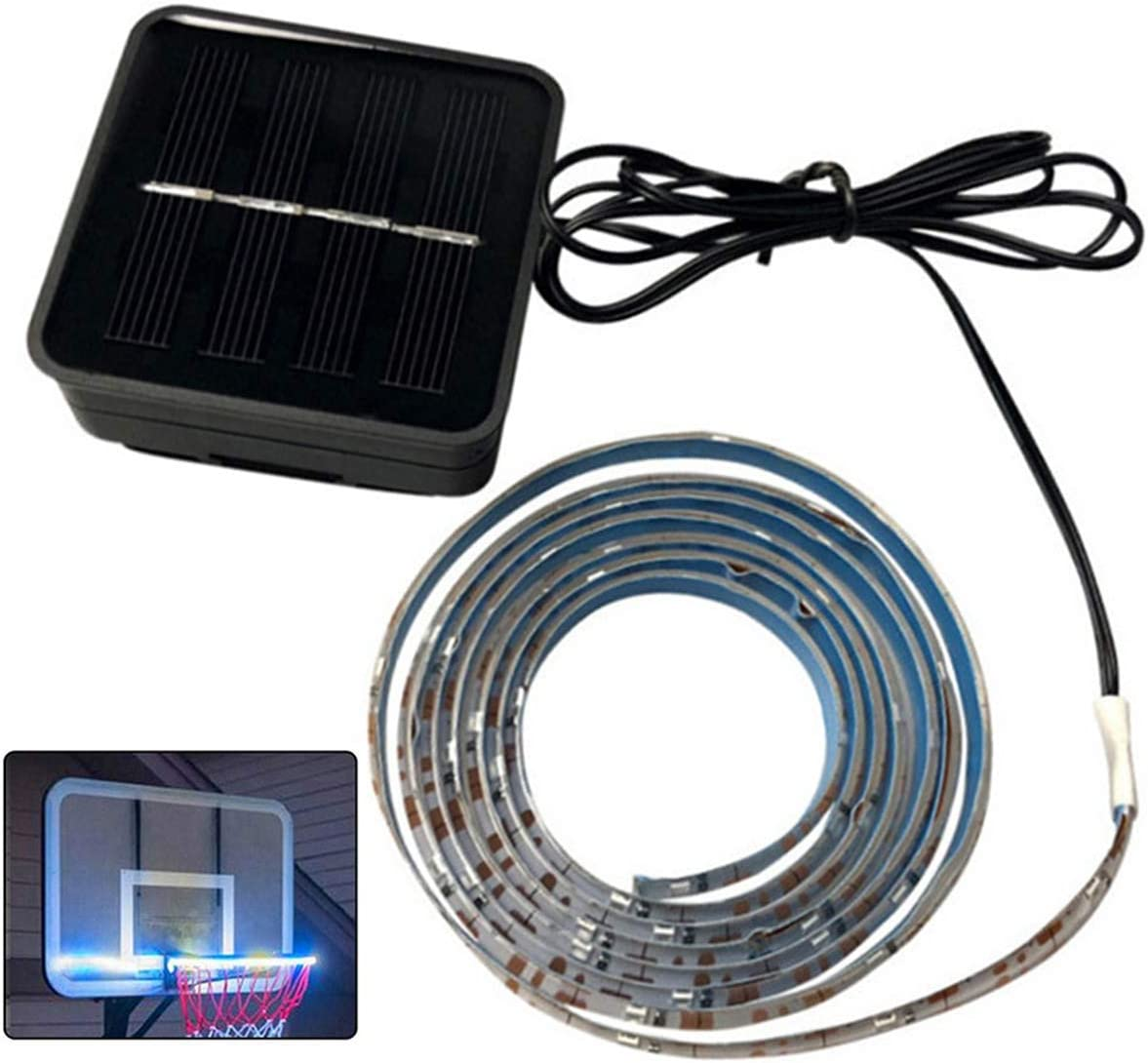 SunshineFace Basketball Hoop Light Bask in- Dark Waterproof- We OFFer at cheap prices Seasonal Wrap Introduction