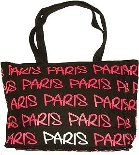 Paris Robin Ruth Shopping Bag - Black, Fuchsia