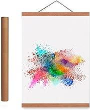 18x24 Poster Frame, Magnetic Light Wood Frame Hanger for Photo Picutre Canvas Artwork Art print Wall Hanging (1 Pack, 18