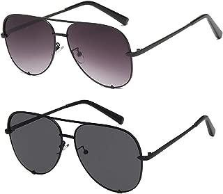 Brand Designer Aviator Sunglasses for Women Classic Oversized Pilot Sun Glasses UV400 Protection