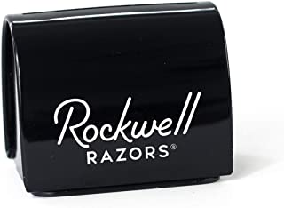 Rockwell Razors Blade Bank - Safety Razor Blade Disposal Case, Recyclable, Black