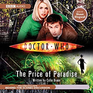 Doctor Who: The Price of Paradise audiobook cover art