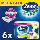 Zewa Wisch&Weg Reinweiss Küchenrolle mit Power-X-Struktur, 48 Stück