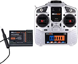 Goolsky MC6A 2.4G S-FHSS 6CH Mode 2 Transmitter with E6-A 6CH Receiver for RC Fixed-wing Quadcopter Multicopter Drone