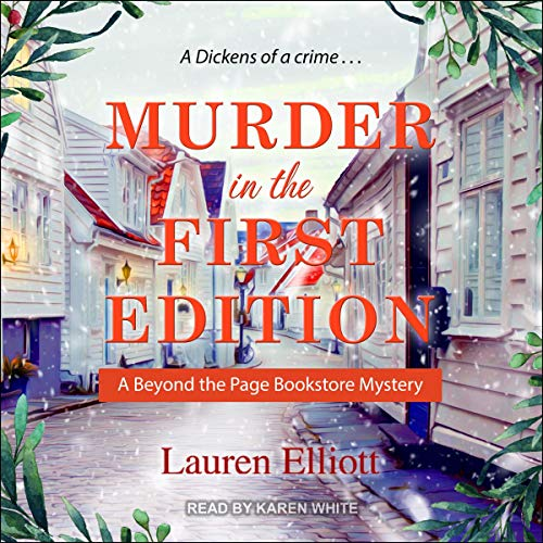 Murder in the First Edition cover art