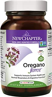 New Chapter Oregano Force for Immune Support with Supercritical Organic Oregano + Non-GMO Ingredients - 30 ct Vegetarian C...