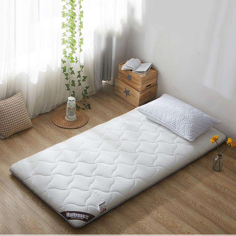 Foldable Durable Soft Mattress Floor Futon Mattress Student Dormitory Mattress Breathable Tatami Floor Mat (color   B, Size   1.0X2.0M Bed)
